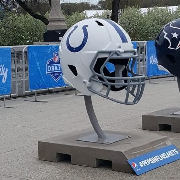 Colts large helmet