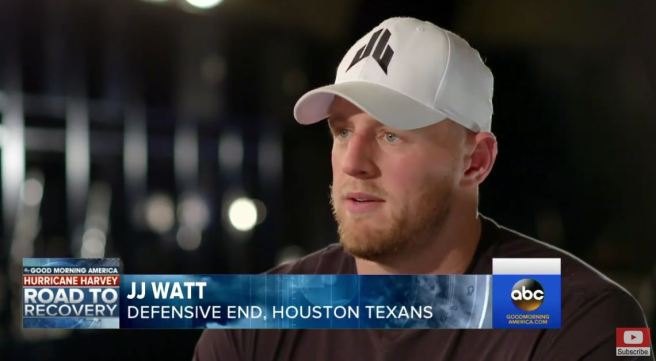 JJ Watt ABC News Interview